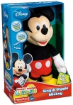 Mickey Maus Schwarz/Rot Fisher Price Silly Squeeze Disney Micky Mouse, 30cm