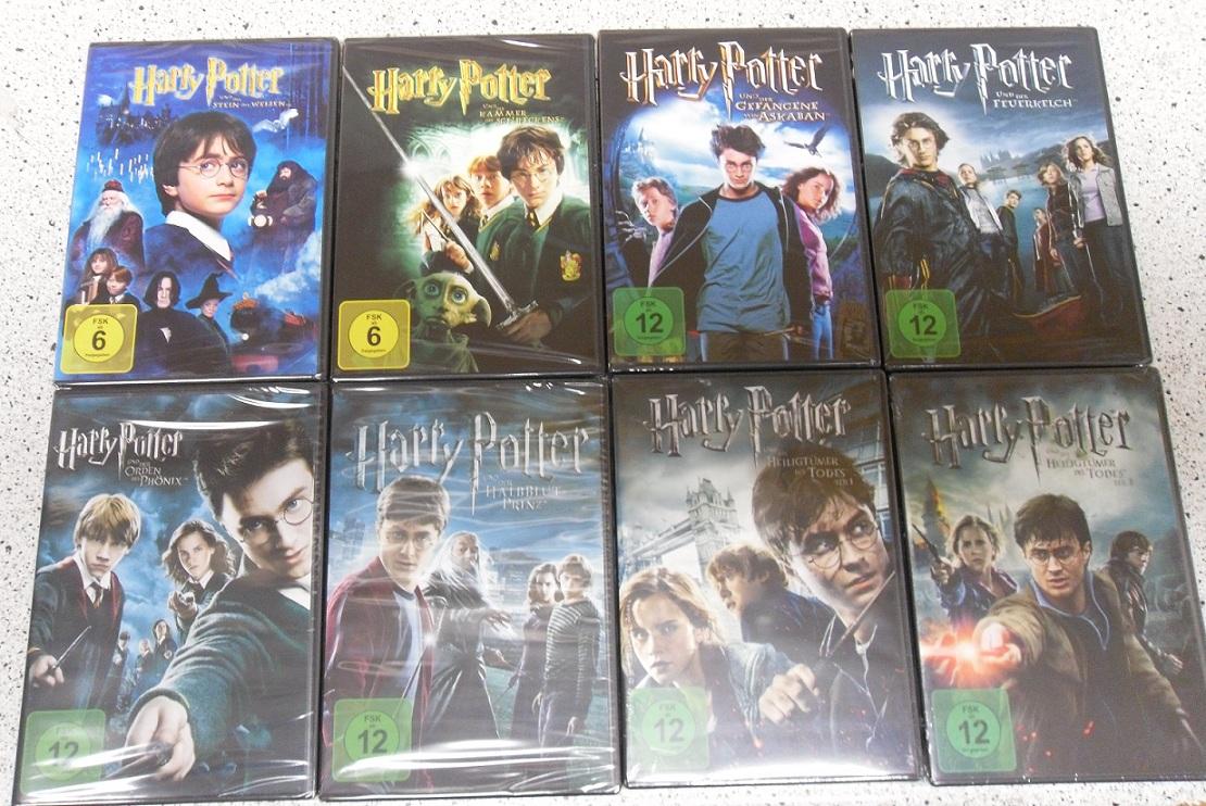 Harry Potter Teile