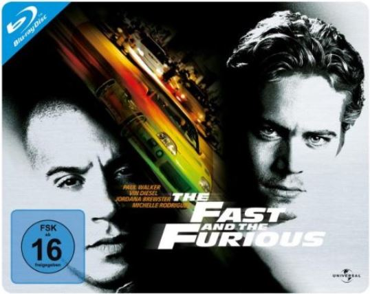 Blu-Ray-The-Fast-and-the-Furious-Quer-Steelbook-NEU-Paul-Walker-Queersteelbook